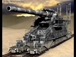 """Монстр-машина """"Дора"""" - самая большая пушка в мире"""